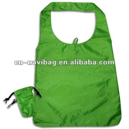 folding shopper tote bag(NV-F068)