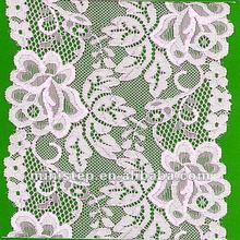 hot hand cut african lace materials for wedding dress/bra
