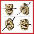 Moda sorriso e chorar velho máscara
