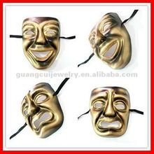 fashion smile and cry old man mask