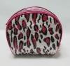 2012 fashion red leopard leather zebra clutch bag