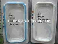 New 2 PCS TPU Frame Bumper Hard Back Case Cover For Samsung I9300 Galaxy S3 III