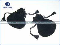 round bottom velvet bags jewelry pouches
