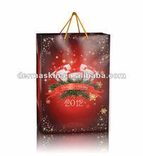 2012 Christmas Day paper gift bag
