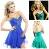 2012 American Style Sweetheart Short Chiffon Party Dress