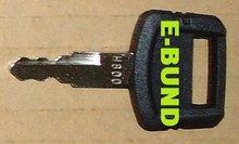 Key #'2-2 (H800) for Hitachi