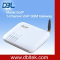 2012 novo telefone celular/ 1 porta gsm goip gateway