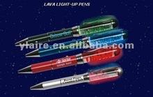 PDA lava light up pen