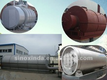 2012 NEW DESIGN HIGH QUALITY CONTINUOUS oil from waste rubber pyrolysis plant