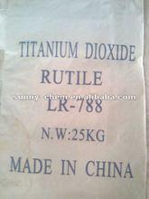 Titanium dioxide rutile for paints