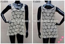 ladies flower design cotton dress/ skirt