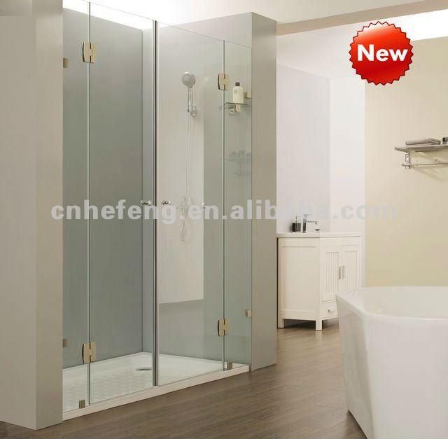 Puertas De Baño Puerto Ordaz:Baño puerta De Cristal para QM-S011-Puertas de Ducha-Identificación