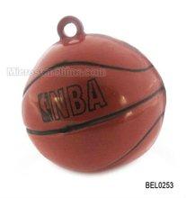 Basketball brass bell pendant 27*26mm hole 2.0mm