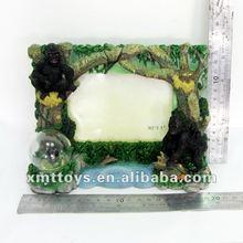 emboss forest resin photo frame