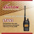 Luiton VHF / UHF الإرسال والاستقبال LT-UV3 مع المتكلم بصوت عال