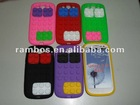 Building Block Soft Silicon Case Phone Case Cover for Samsung Galaxy S3 i9300