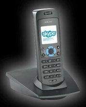wireless skype phone with radio range 300 metres