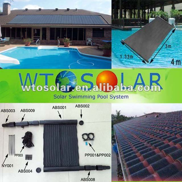 WTO-PN4 Swimming pool system solar collector