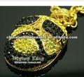 Colliers pendants de Hiphop de perche à chaînes distinctive de Rick Ross
