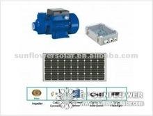 Centrifugal submersible bore Solar pump, Max Flow Rate 5100 LPH, Max Head 98m.