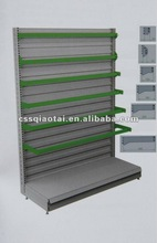 Wall-side store fixture racks