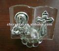 De vidrio de cristal religiosa regalos de la biblia, cristal santa biblia