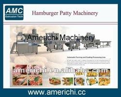 Burger patty steaks machine
