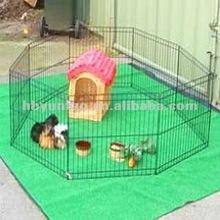 beautiful metal dog fence