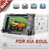 Special 7 inch 2 din touch screen Car stereo system for KIA SOUL