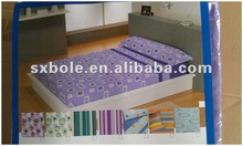 cheap colorful bedding set/ bed sheet