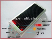 2012 Newest Low price!! Portable Solar Charger for mobile phone/MP3/MP4 Charged by AC adapter/Computer