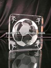 2012 crystal football decoration