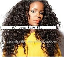 brazilian virgin human hair curly afro wigs for black women