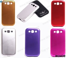 2012 Hot Selling 7Colors Chic Aluminum Metal Bumper Alloy Hard Case for Samsung Galaxy S3 III i9300