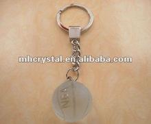 Crystal Basketball Keychain MH-YS0279