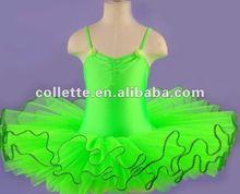 Stock wholesale 6 layers Green ballet tutus
