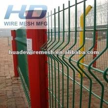 3 D fence panel,weldmesh panel fences,profile mesh