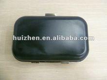 mini purse frame with black plastic case