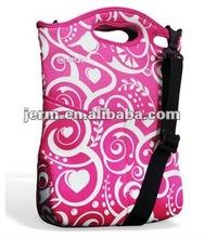 Customized neoprene laptop tote bag