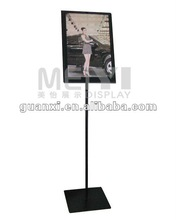 2012 stainless steel advertisement display stand
