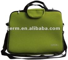 Customized neoprene laptop messenger bag