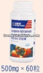 Tomato extract &Vitamin E softgels