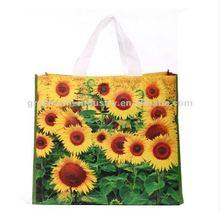 Flower Printing Bamboo Shopping Bags
