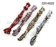 popular leopard dog leash with rhinestone bone 2012
