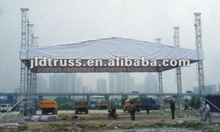 2012 HOT aluminum 290*290 truss lighting roof truss tower