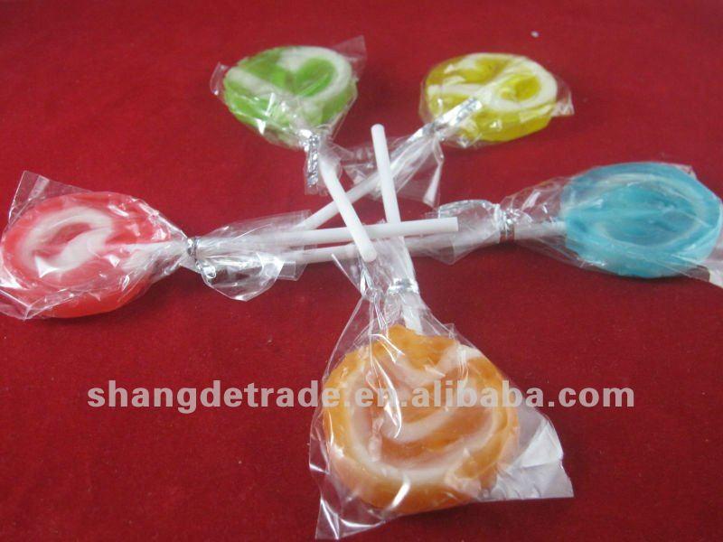 hot selling swirl lollipop