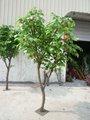 2012 novo design laranja artificial bonsai árvore
