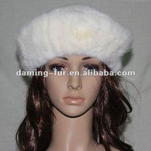 2012 Fashionable Real Mink Fur Hat/Beautiful Apperance