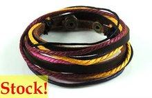2012 fashion leather cord bracelet