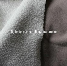 polar fleece bonded lamb fabric